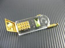 Glas SWAROVSKI Miniatur Handy Mobile Phone ...