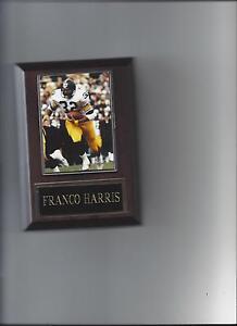FRANCO HARRIS PLAQUE PITTSBURGH STEELERS FOOTBALL NFL