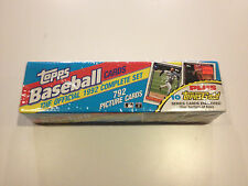 Topps Baseball Cards The Official 1992 Complete Set (New)