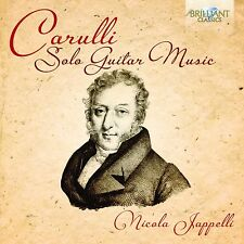 Nicola Jappelli-solista GUITAR MUSIC CD NUOVO