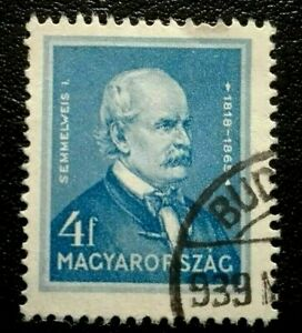 Hungary :1932 Famous Hungarians 4 f. Rare & Collectible Stamp.