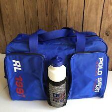 Polo Sport Duffle Bag Vintage 90 s Ralph Lauren Blue 1997 Water Bottle USA  Gym 213febfba6c6f