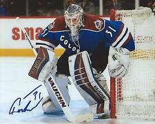 Calvin Pickard Signed 8x10 Photo Colorado Avalanche Autographed COA C