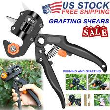 Garden Tree Grafting Pruning Pruner Shears Cutting Tool Kit w/ Film Tape USA