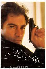 Timothy Dalton  ++Autogramm++ ++James Bond 007++