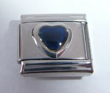 HEART MOOD STONE Italian Charm - Changes Colour fits 9mm Bracelets Moodstone
