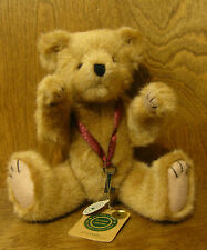 """Boyds Plush #57002-08 J.P. Locksley, 12"""" NEW/Tag From Retail Store, Jointed Bear"""
