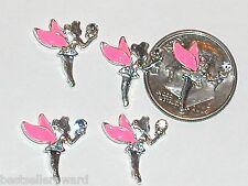 2pc. Miniature dollhouse tiny Flatbacks crystal Fairy magical Pixie * 12x15mm