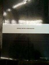 Manual for Stations of Servizio-Manutenzione Suzuki Tr 50 S