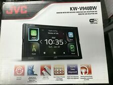 JVC KW-V940BW WIRELESS  APPLEPLAY / ANDRIOD AUTO W/DVD