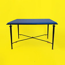 Side table appoint style André Arbus années 40 arrow laiton flèches mid century
