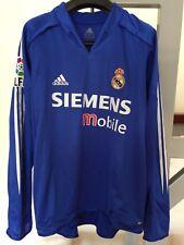 ADIDAS 2004 2005 REAL MADRID FOOTBALL SHIRT SOCCER JERSEY 17 SAMUEL L/S RONALDO