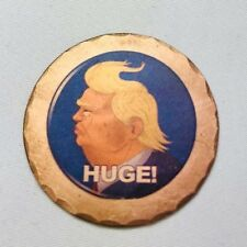 TRUMP HUGE Forged Copper Golf Ball Marker by Sunfish