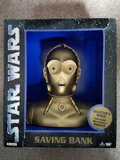Star Wars Saving Bank C-3P0 Think Way 1994 Brand New