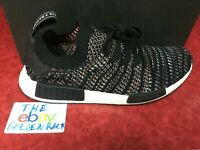 adidas Originals NMD R1 STLT Primeknit Men's Black/Grey/Red B37636
