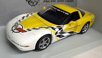 UT Models 1/18 Scale 30041 Chevrolet Corvette Pace Car Yellow Diecast model car