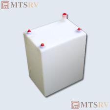10 Gallon Fresh Water Tank - FDA Approved - Molded Seamless RV Trailer Marine