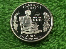 UNITED  STATES    25 Cents    2003  S    PROOF   ALABAMA  *