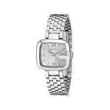 Gucci YA125517 Women's G-Gucci Silver Quartz Watch