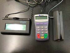 Verifone credit card reader Doesnt have chip reader Topaz signature pad