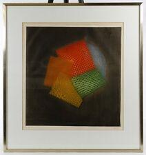 Arthur Luiz Piza (Brazilian, b.1928 d. 2017) Etching 'Kaleidoscope' Framed