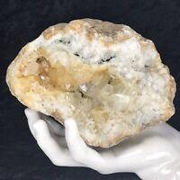 """6""""  Golden Healer Crystal Cluster Large Geode Quartz KY 2.15Lb Citrine Color"""