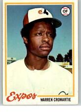 1978 Topps #468 Warren Cromartie F1C944