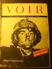 Revue photos - VOIR - Journal de Guerre - N° 33 - Edition Spéciale -Le Pacifique