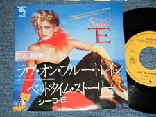 "SHEILA E.(PRINCE) Japan 1986 PROMO 7""45 LOVE ON A BLUE TRAIN(Single Edit)"