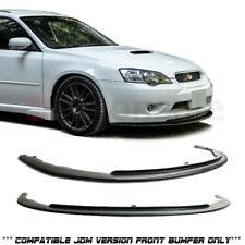 Made for 2005-2007 Subaru Legacy (with JDM Bumper Only) PU Front Bumper Lip