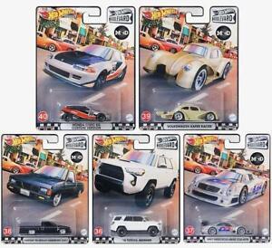 (PRE ORDER) Hot Wheels Premium Boulevard H Case Complete Set of 5 Cars