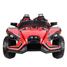 4x4 BUGGY 2-Sitzer Kinderauto Elektroauto Fernbedienung 4 Motoren Ledersitz MP3