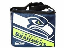 Seattle Seahawks Insulated Lunch Bag 6 Pack Cooler NFL Football Licensed Product