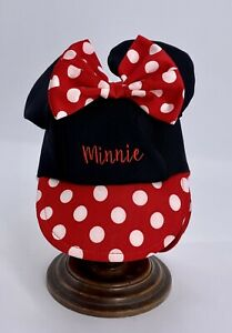 Disney Baby Girl Mini Mouse Cap Size One Size Fits Most New With Out Tags. E24