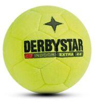 Derbystar Fussball Indoor Extra Hallen Trainingsball Handgenäht Ball gelb