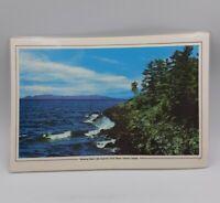 SLEEPING GIANT-LAKE SUPERIOR-ONTARIO, CANADA Vintage Laminated Souvenir Placemat