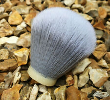 24/26/30 mm Silver Smoke Synthetic Shaving Brush Hair Knot Replacement Grooming