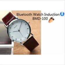 NEW Bluetooth Watch With Spy Hidden Wireless Invisible Mini Covert Earpiece