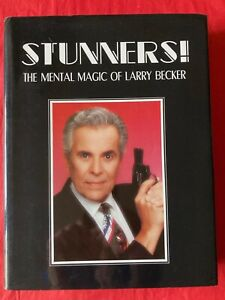 Larry Becker STUNNERS! First 1992 Edition HB Signed.