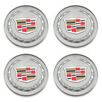 Set of 4 Cadillac 9597375 9595439 DTS SRX XLR CTS ATS XTS Center Caps Hubcaps