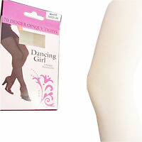 NEW GIRLS LADIES 70 DENIER THICK WHITE OPAQUE TIGHTS  S M L X/L PLUS SIZE PARTY