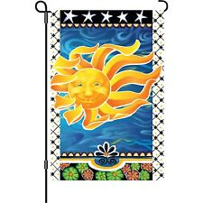 "Radiant Sun (12"" x 18"" Approx) Garden Flag..5... PR 51437"