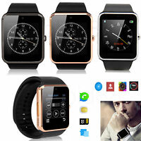 Bluetooth Wrist Smart Watch GSM Phone Mate For Android Samsung Apple iOS iPhone