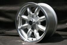 4 Opel Kadett Manta GT Ascona Felgen 5,5x13 silber/poliert TÜV Teilegutachten