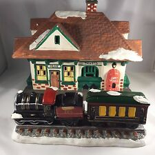 Dept 56 The Original Snow Village #5122-5 Village Station and Train