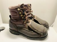 Thorogood 804-4181 Men's 10.5 EEE Logger Construction Safety Steel Toe Boots