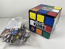 Rubik'S Cube Collectable - Two Impossible Jigsaw Puzzles - Year 1974 Boxed