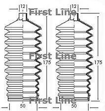 FSG3050 FIRST LINE STEERING GAITER KIT fits Opel, Vauxhall