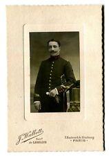 photo Ancienne Portrait Militaire