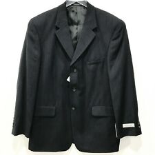 Vincenzo Le Collezioni Mens Blazer Jacket Pinstriped 100% Pure Wool 42 Regular